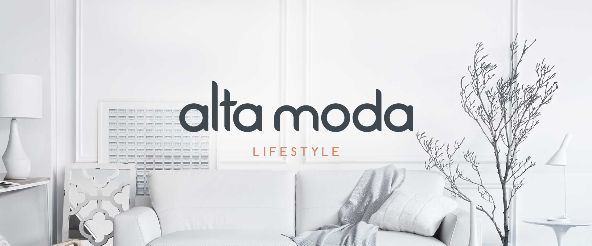 Website Design, Online Catalogue & EDM Design for luxury brand of homewares and furniture, Alta Moda Lifestyle by Grays eCommerce in Sydney Australia, image 01