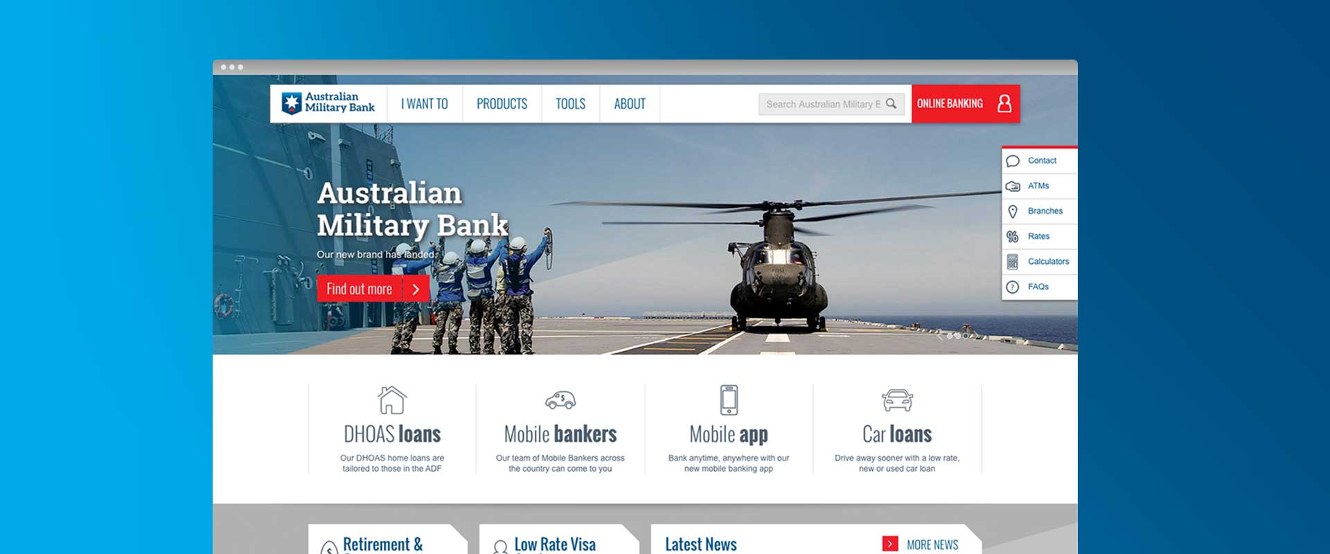 Website Design Agency, Percept, specialist in creative Website Design Sydney demonstrated in projects for all types of company, business, brand or product in Australia, image 08