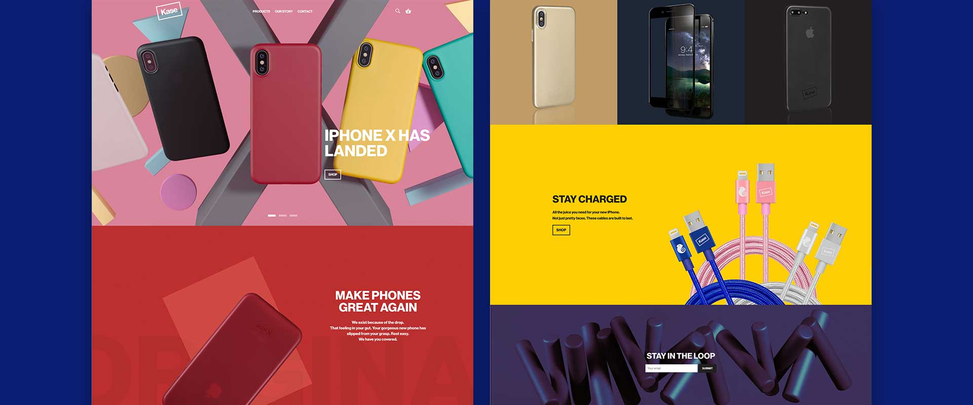 Brand Strategy, Brand Identity Design, Art Direction & Copywriting project for Kase consumer products, Sydney, Australia, image 08