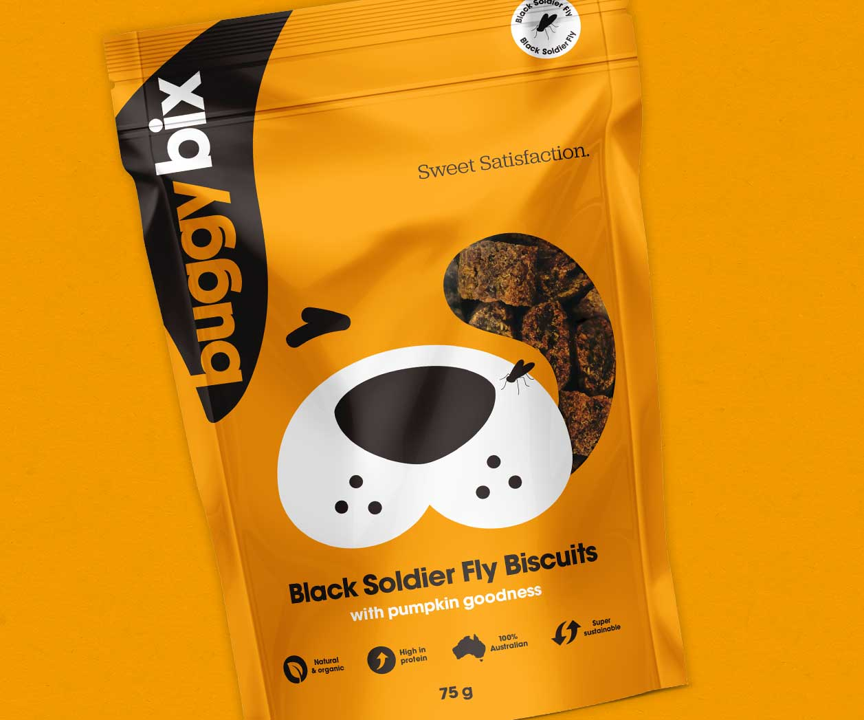Creative Packaging Design project for petcare products brand Buggy Bix, Sydney, Australia cover image