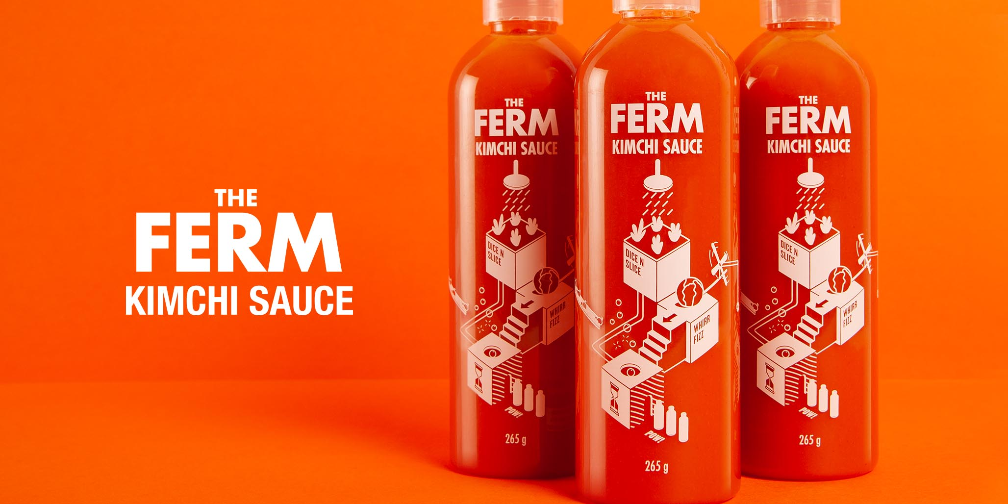 Brand Positioning, Brand Naming, Branding & Packaging Design project for FMCG food product manufacturer The Ferm, Sydney, Australia, image F