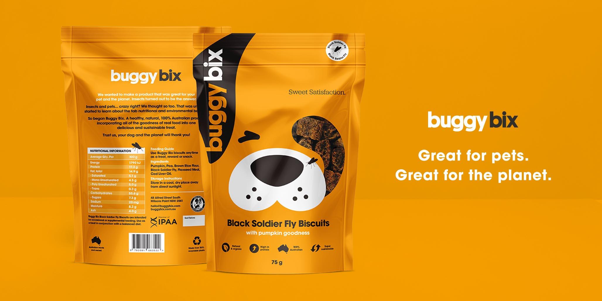 Website Design project image for pet food website design by Percept creative agencies Sydney, case study image H