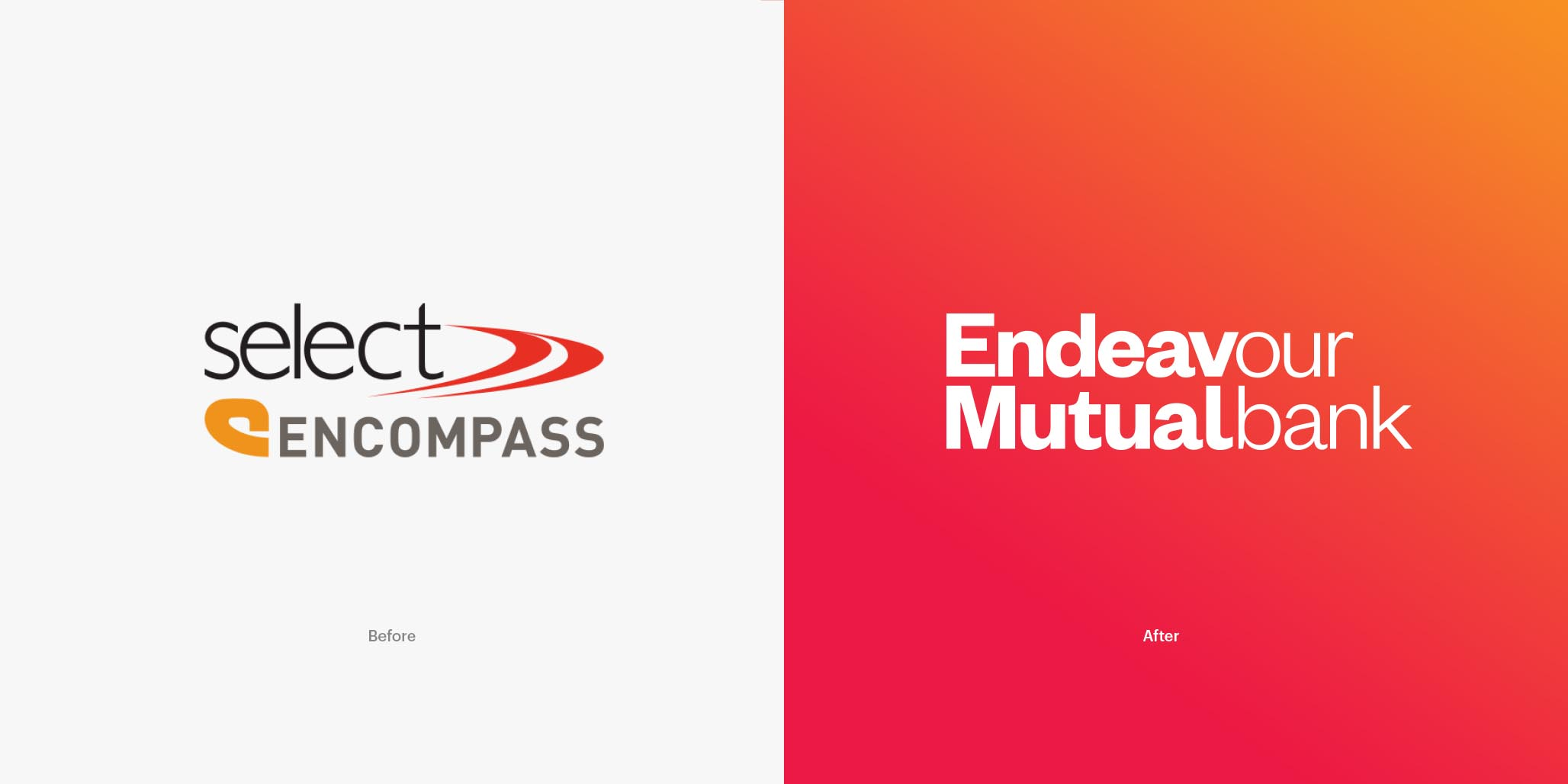 Rebranding, Brand Identity Design & Roll-out project for financial services company, Endeavour Mutual Bank, Sydney, Australia, image B