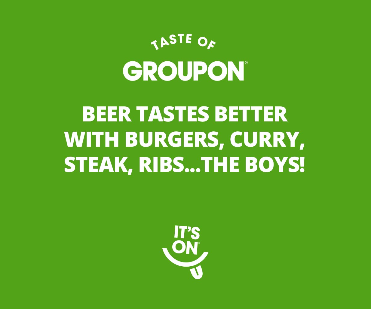 Digital Campaign, Creative Copywriting, Web Banners & Ad Design project in Sydney Australia for global online business brand Groupon, image F