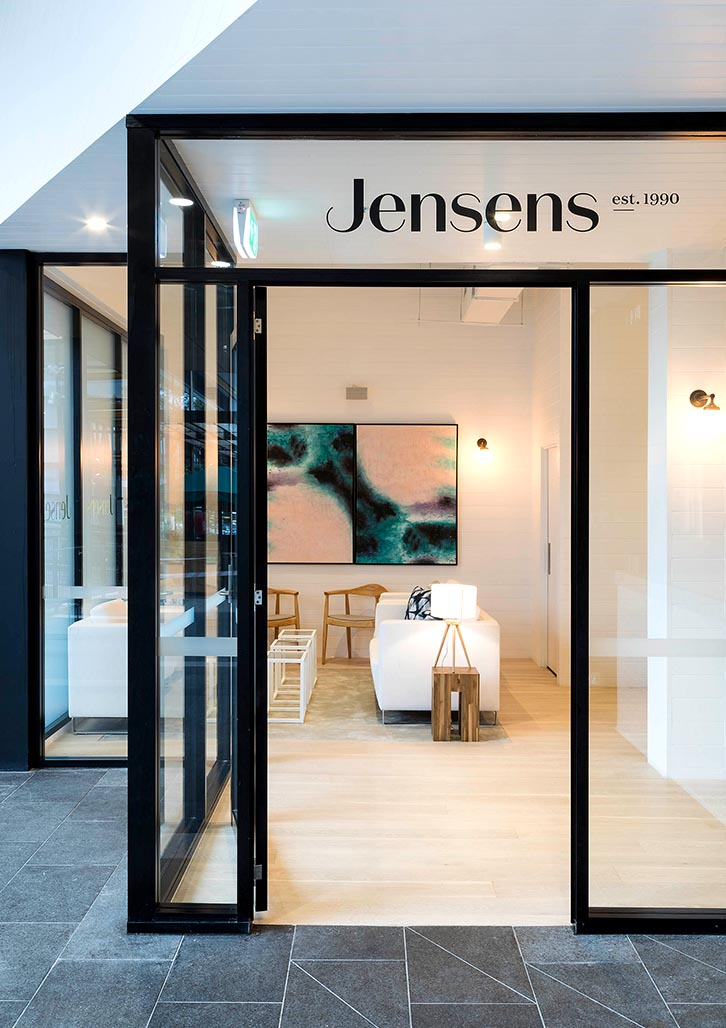 Brand & Website Design project in Sydney for hospitality venue Jensens Restaurant, a leader in the food service industry of Australia, image E