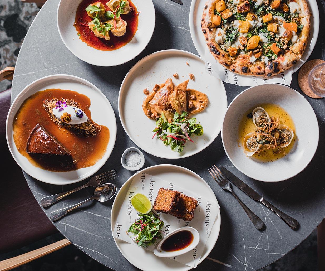Brand & Website Design project in Sydney for hospitality venue Jensens Restaurant, a leader in the food service industry of Australia, image K