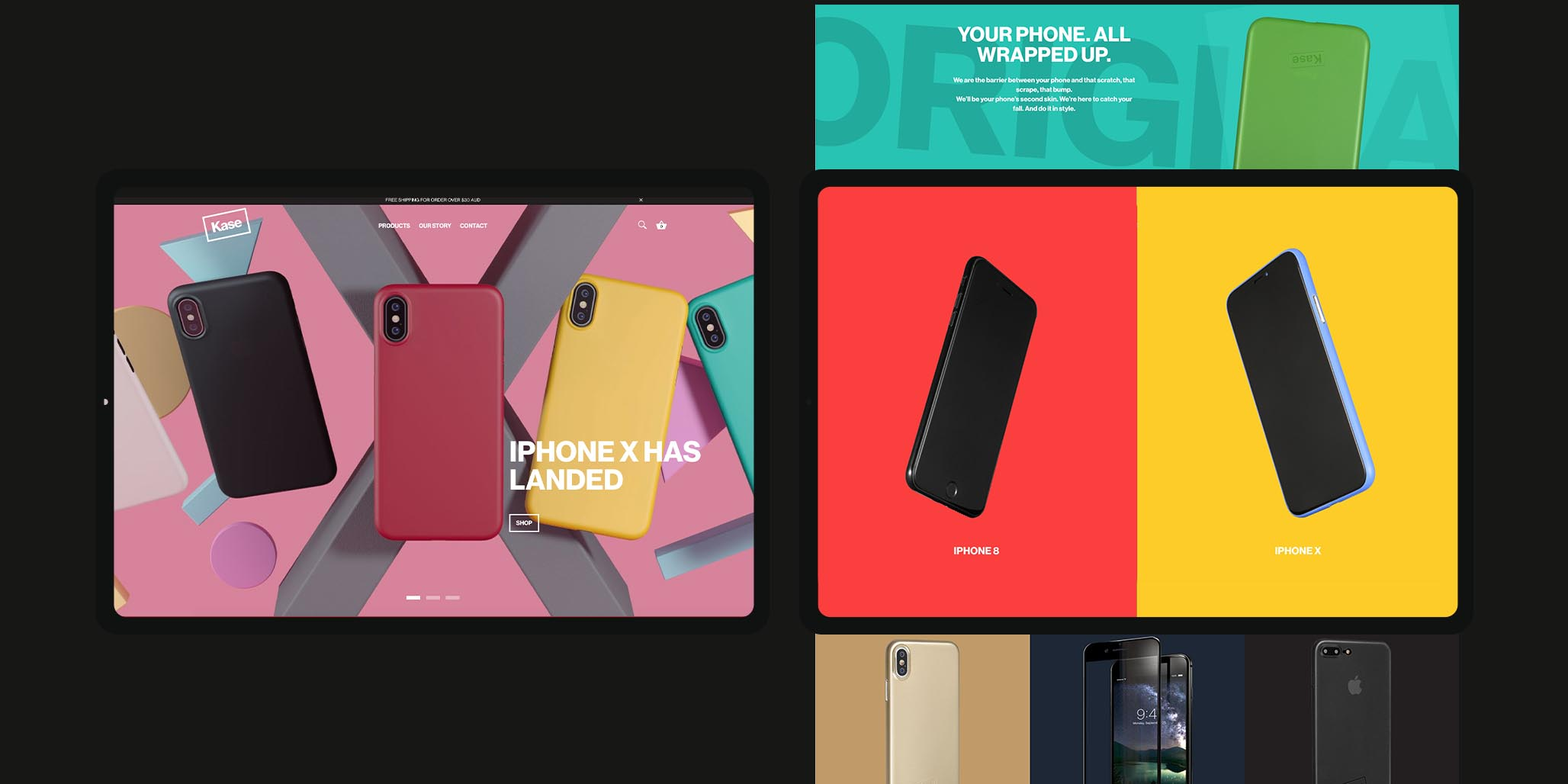 Brand Strategy, Brand Identity, e-Commerce Website Design and Development project for electronic consumer goods company in Sydney, Australia, image D