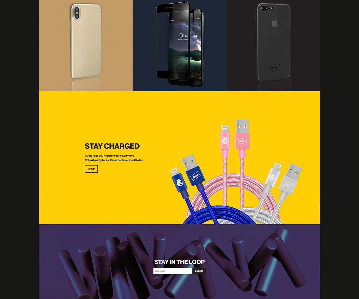 Brand Strategy, Brand Identity, e-Commerce Website Design and Development project for electronic consumer goods company in Sydney, Australia, image H