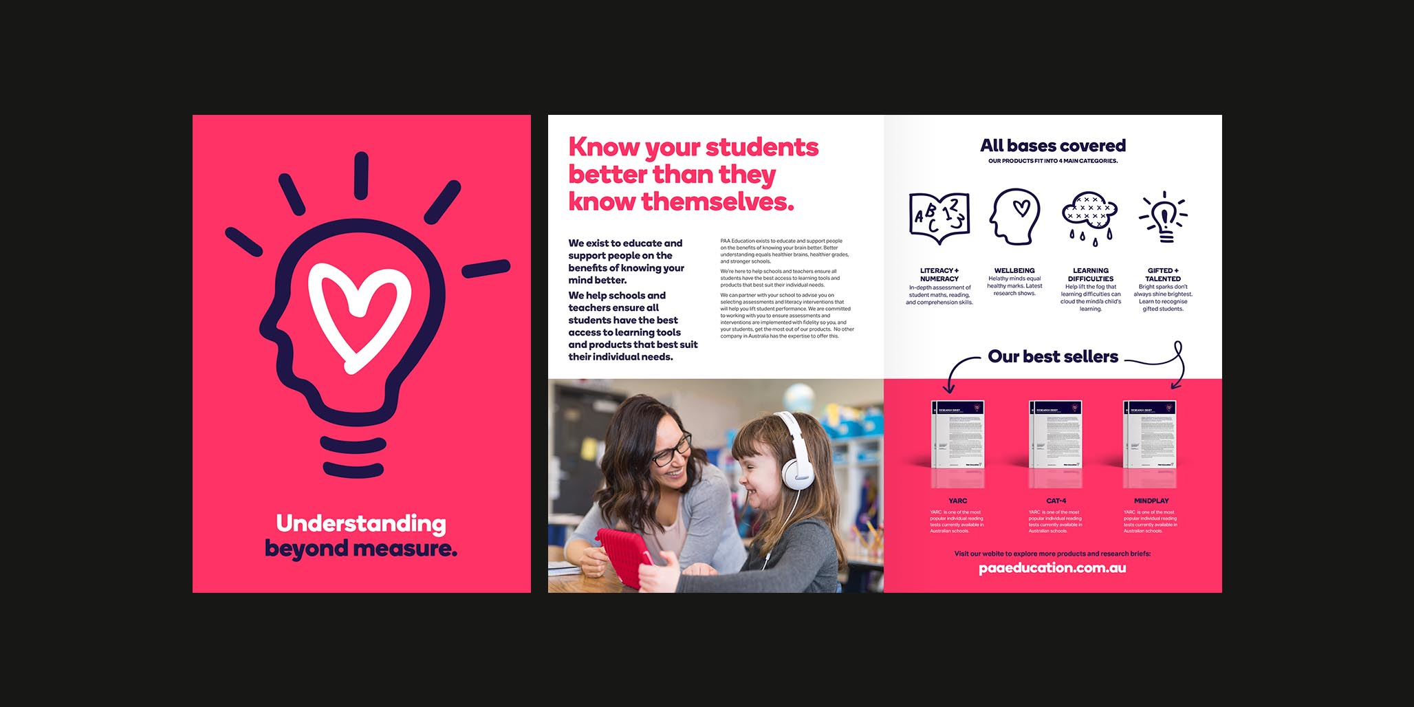 Branding Services & Website Design project for PAA Education, Sydney, Australia, image landscape H