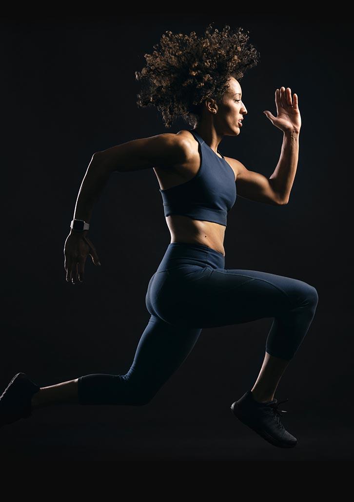 Brand identity design for Rileys Gym by Australian branding agency, Percept, image E