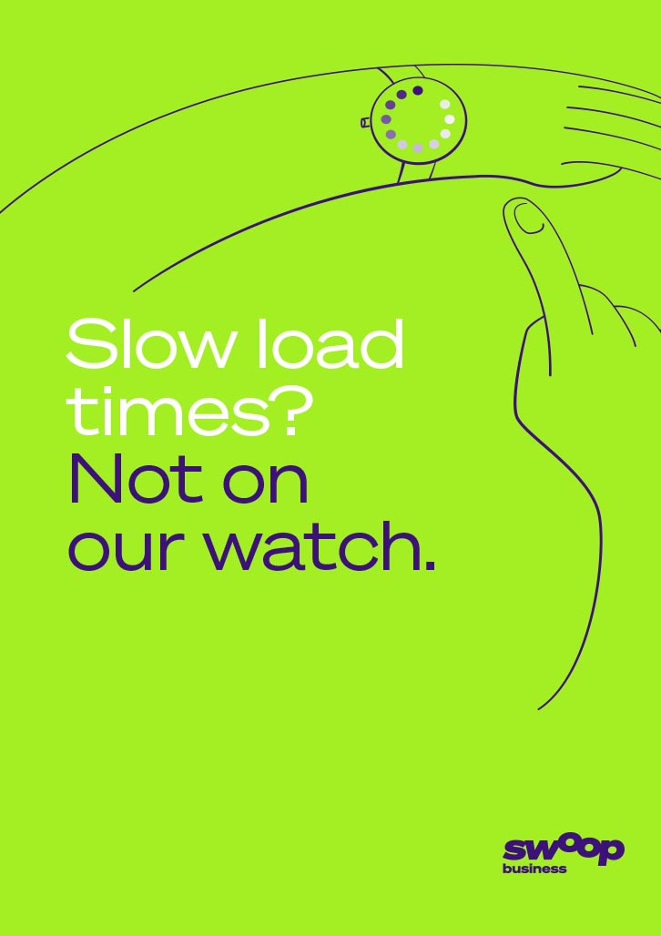 Brand Agency, Percept, create Brand Identity for Swoop, an Australian telco company, image E