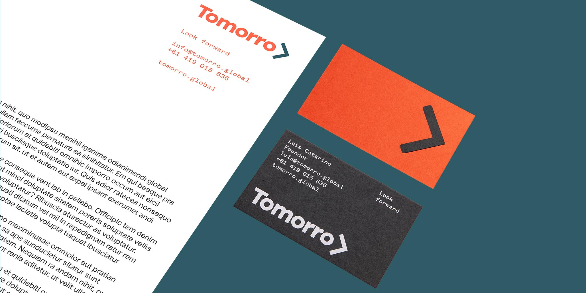 Company Naming & Brand Identity for tech start-up by the Percept Brand Agency, image H