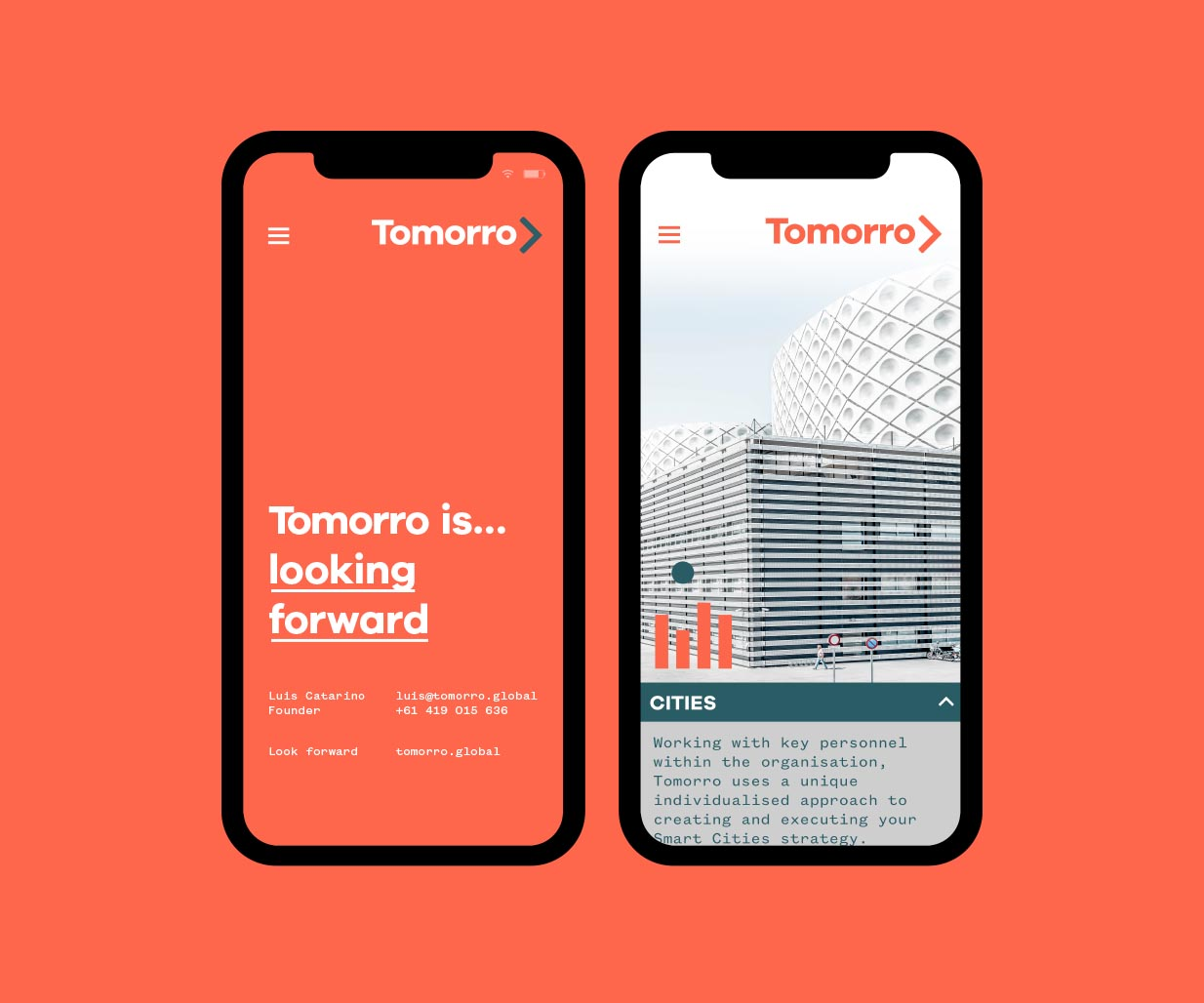 Company Naming & Brand Identity for tech start-up by the Percept Brand Agency, image L